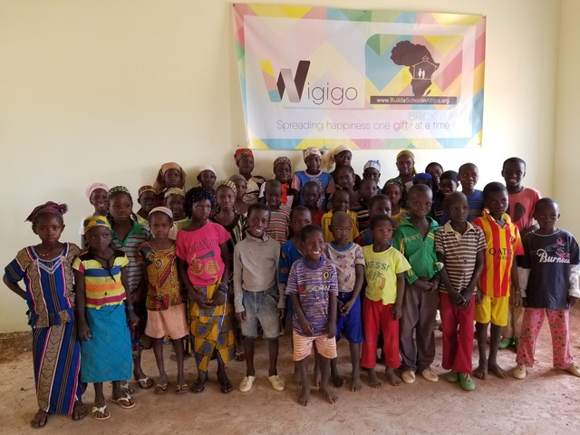 Wigigo The Gift of Giving - charity school in NOLABOUGOU FINISHED 8
